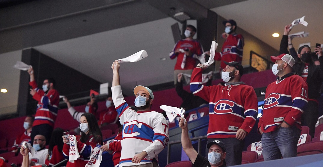 Fans in Montreal thrilled to return for Canadiens-Leafs series (VIDEOS)