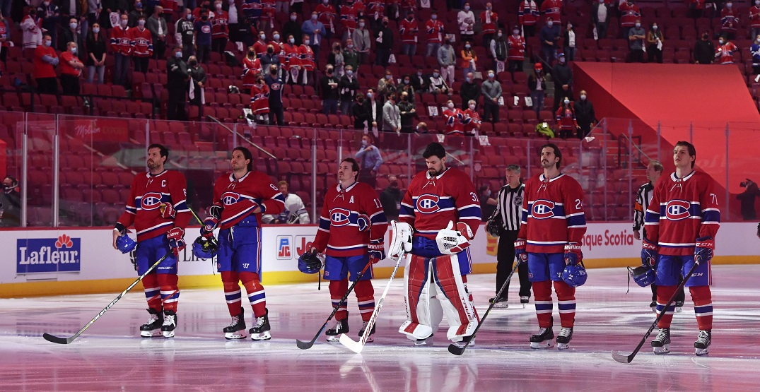 Fans in Montreal singing O Canada will give you goosebumps (VIDEO)