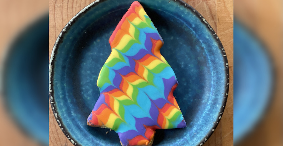 Pride guide: Flora Bakehouse is serving rainbow tree cookies this month