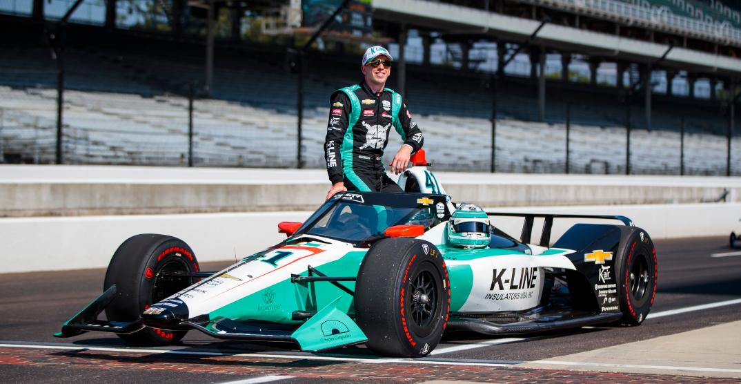 """Nerdy"" Canadian IndyCar driver Dalton Kellett lives out Indy 500 dream"