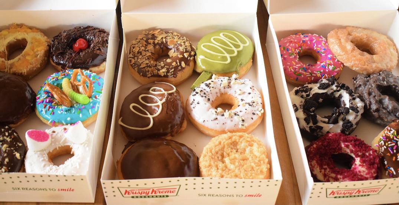 Krispy Kreme offering FREE donuts on National Donut Day