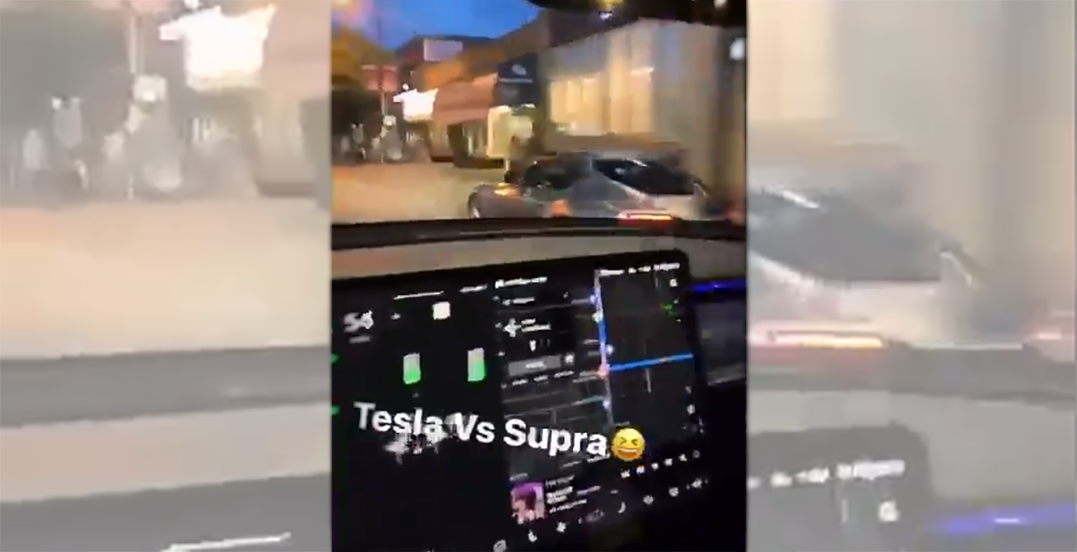 Street racers caught driving over 170 km/h, weaving through traffic