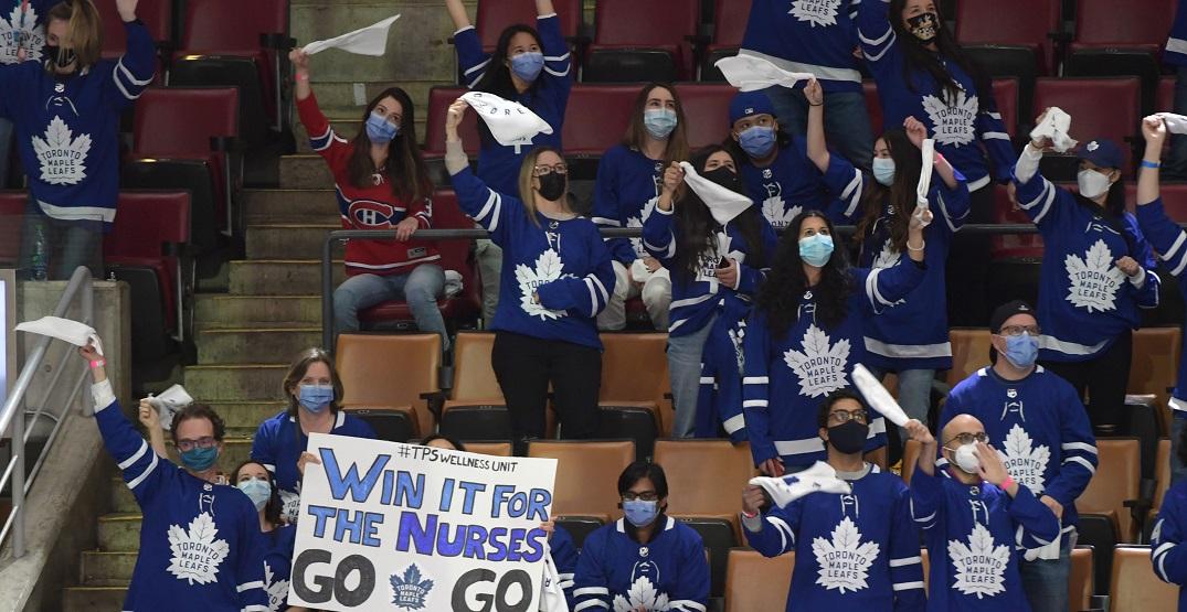 Ontarians ask for reopening after healthcare workers attend Leafs Game 7