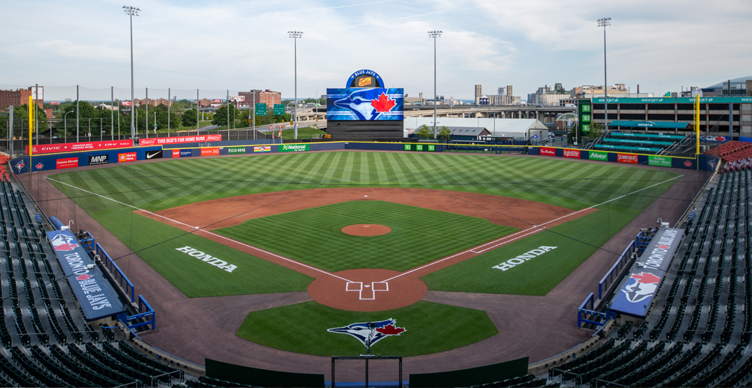 """Blue Jays unveil major upgrades to new """"home"""" field in Buffalo (PHOTOS)"""