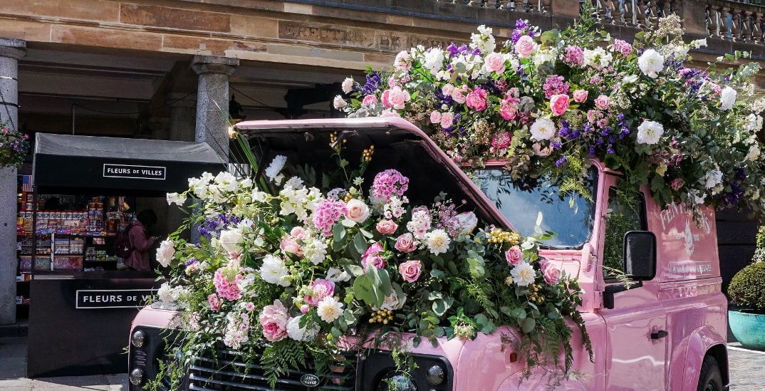Explore over 50 stunning floral displays throughout Downtown Vancouver (VIDEO)