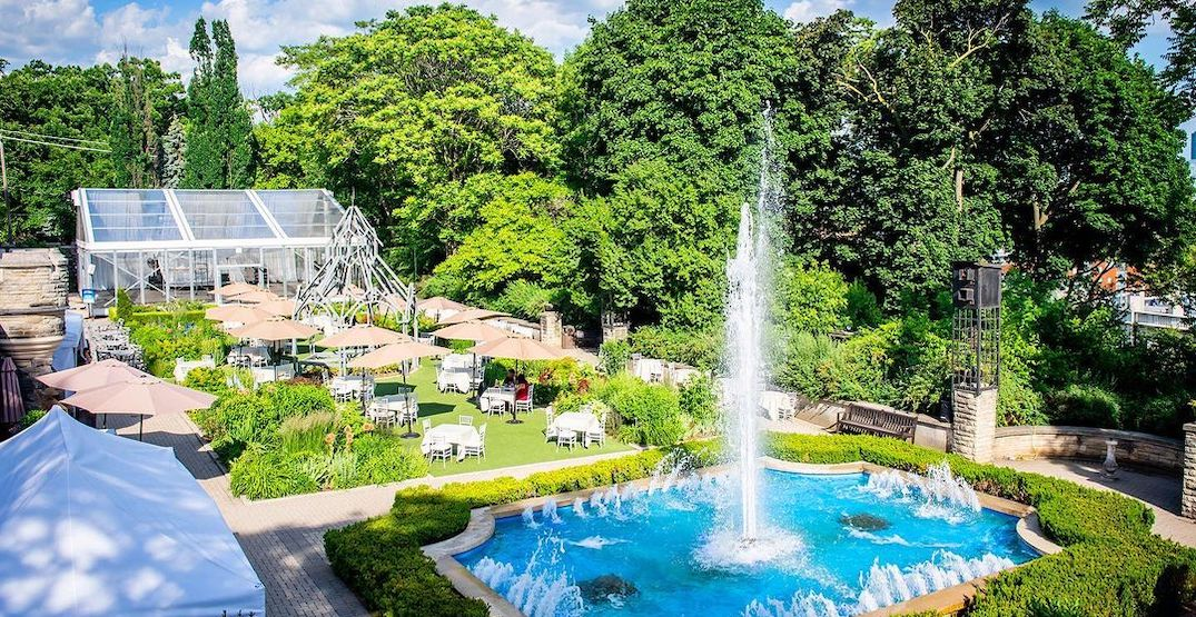 Casa Loma's stunning garden patio is reopening this month