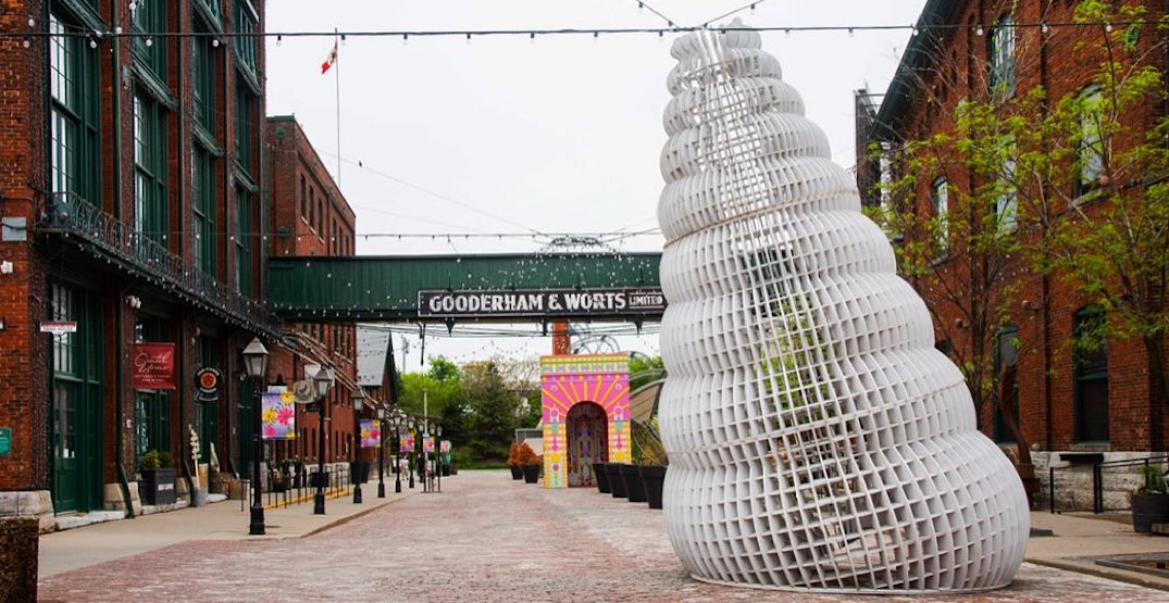 A look at this year's Winter Stations installations at the Distillery District (PHOTOS)