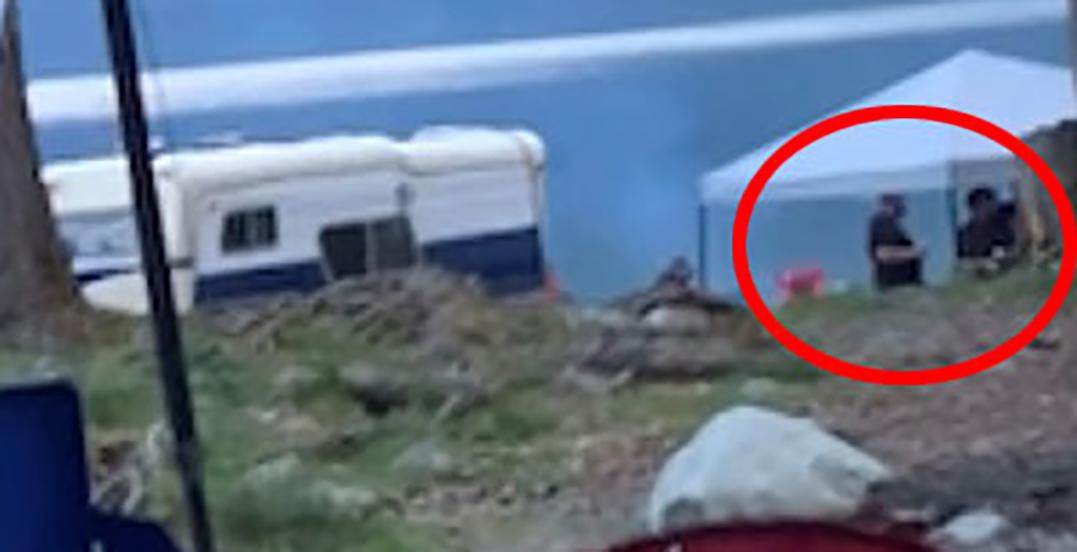 Family assaulted by campers wielding machete, pellet gun: RCMP