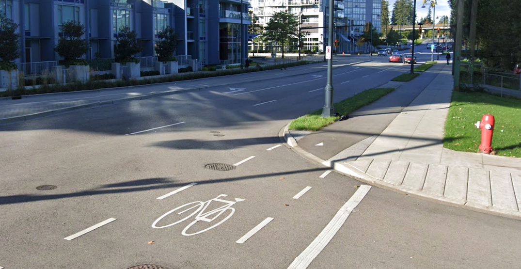 """Six kilometres of bike lanes to be """"quickly"""" built in Surrey City Centre"""
