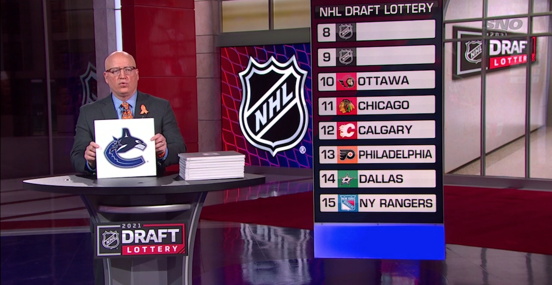 Seattle gets lucky and Canucks don't at 2021 NHL draft lottery