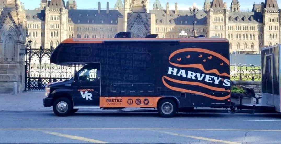 Harvey's is giving out free burgers at select GTA COVID-19 vaccination clinics
