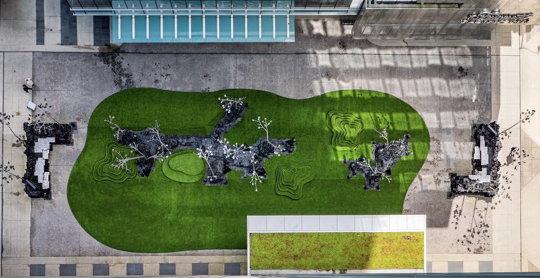 Fairmont Pacific Rim unveils seasonal grassy pop-up patio (PHOTOS)