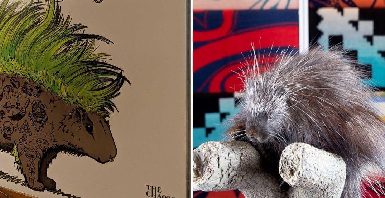 Four interactive animal murals have been hidden around Pike Place Market
