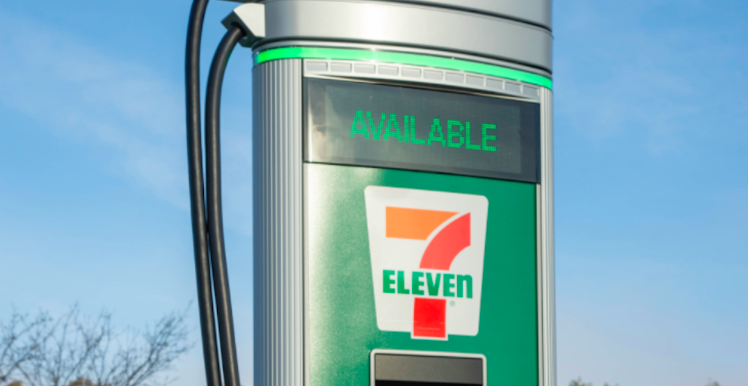 7-Eleven to open 500 EV charging stations in the US and Canada