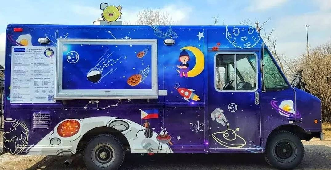 This Filipino food truck serves space-themed dishes