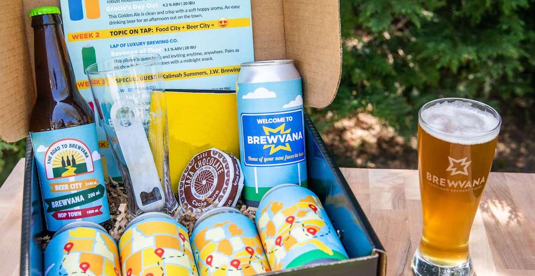 This travel-themed beer club delivers new beers to your doorstep monthly