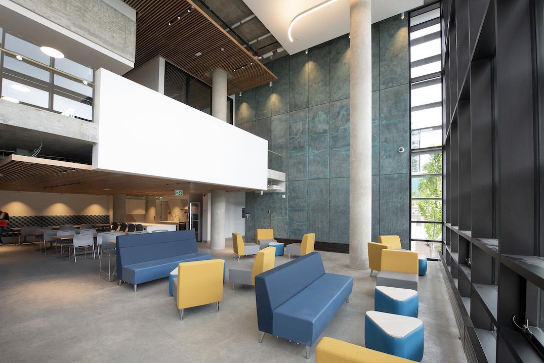 sfu simon fraser university student housing east/west towers