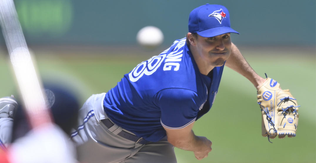 Blue Jays pitcher Ross Stripling was accidentally tipping his pitches