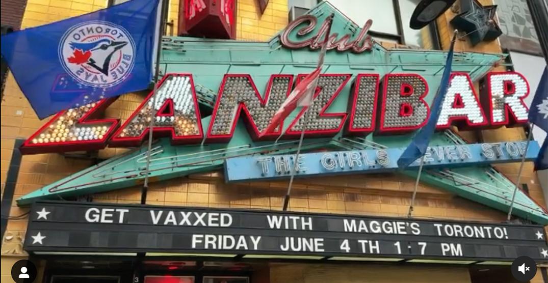Toronto strip club hosts pop-up COVID-19 vaccination clinic