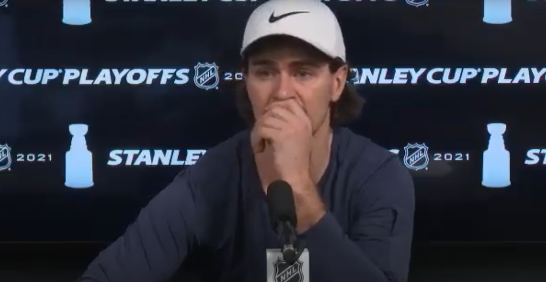 """Scheifele says his parents received """"hate"""" messages after controversial hit"""