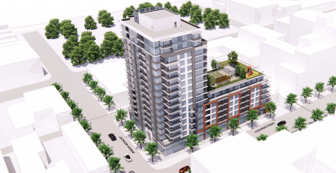 16-storey social housing tower proposed next to Oppenheimer Park