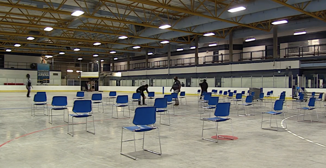 Calgary to hold pop-up vaccine clinic at hockey rink this weekend