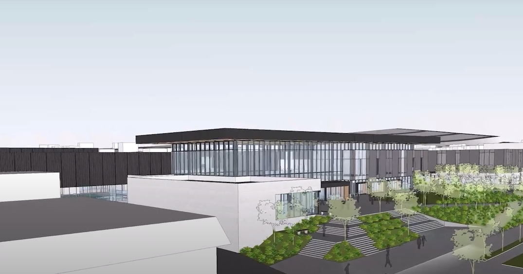 Harry Jerome Community Recreation Centre North Vancouver downsized