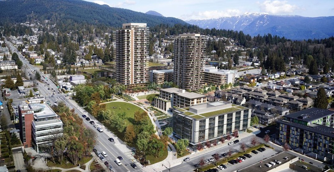Construction begins on North Vancouver redevelopment with 800 homes