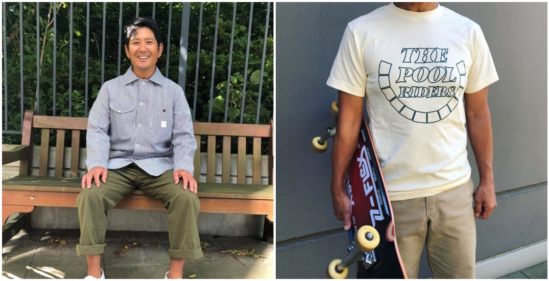 Sick of restaurant work, skateboarder launches clothing line inspired by Japanese fashion