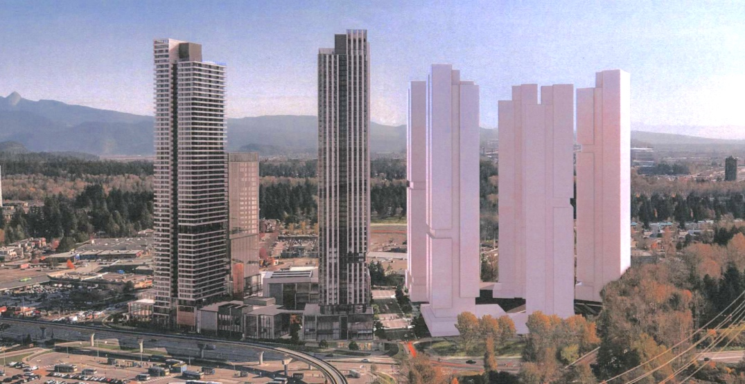 Homes for 8,000 people proposed next to SkyTrain's Coquitlam Central Station