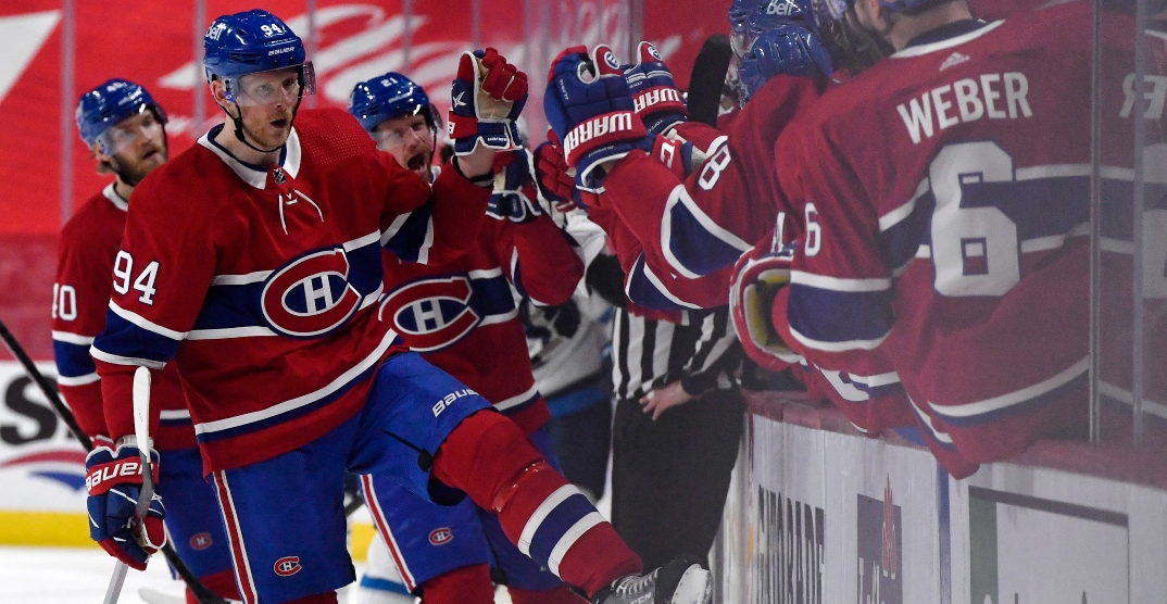 Canadiens put Jets on brink of elimination with sixth straight win