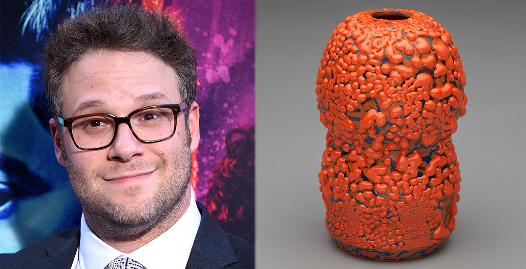 Ceramic vase made by Seth Rogen auctioning for over ,700