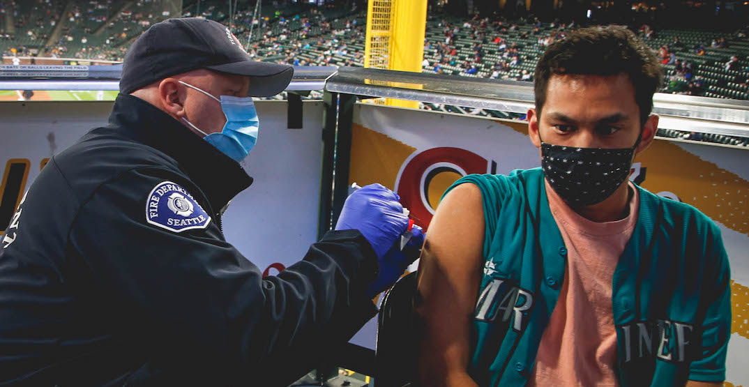 Fans who receive their COVID-19 vaccine at T-Mobile park to receive major perks