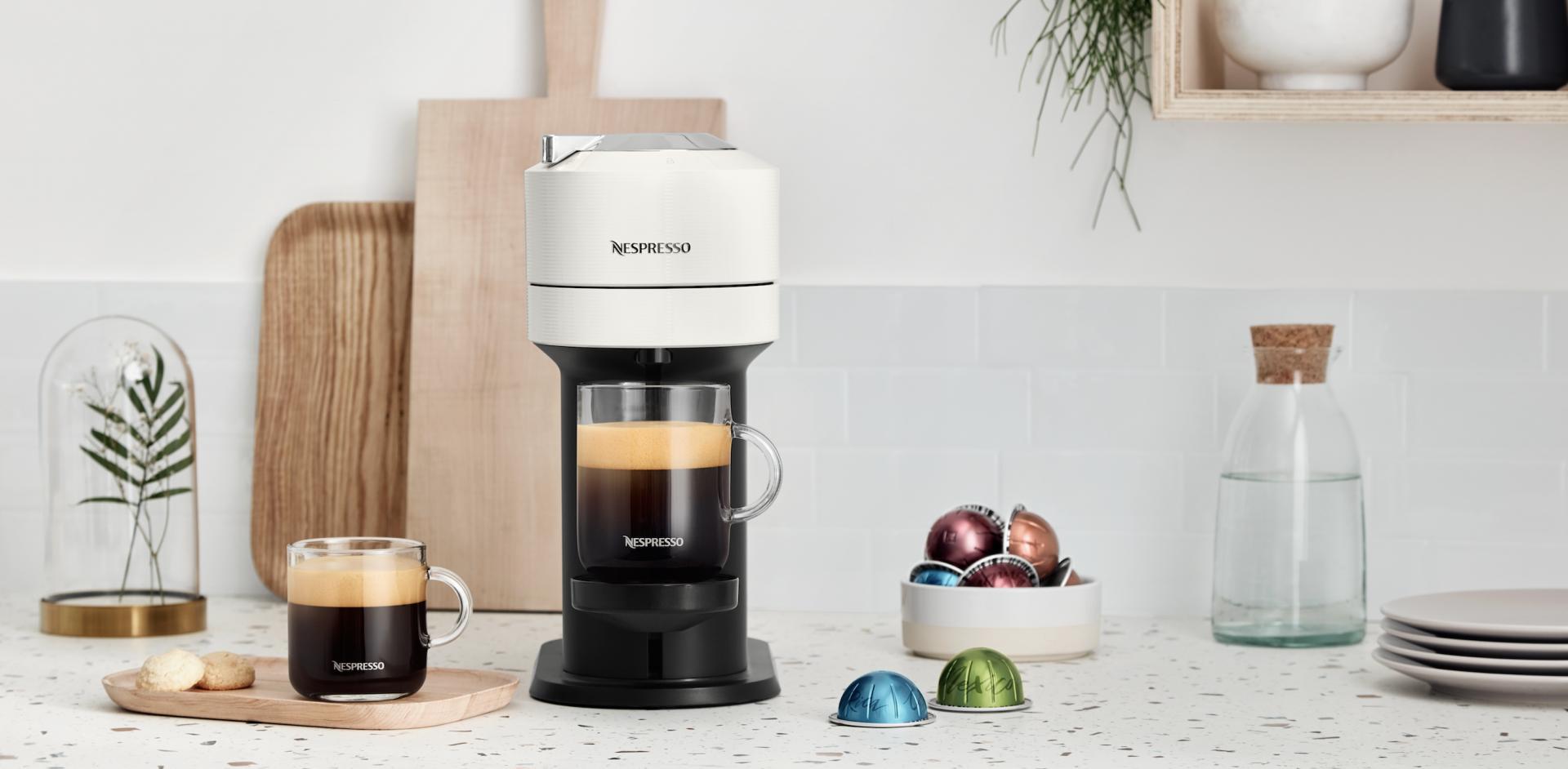 Nespresso's Vertuo Next.
