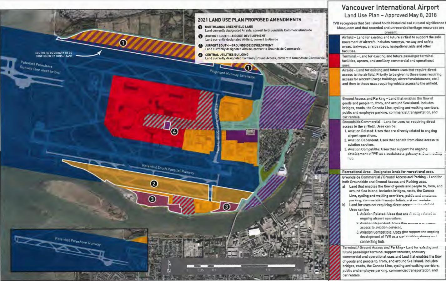 vancouver international airport yvr 2021 land use amendments
