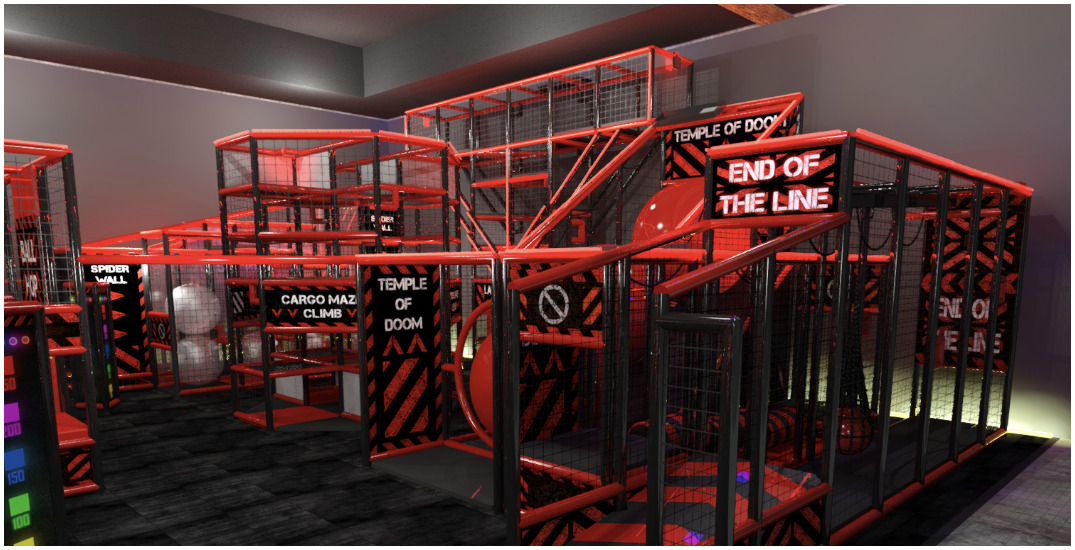 Unleash your inner warrior at Canada's first Ninja Tag arena (PHOTOS)