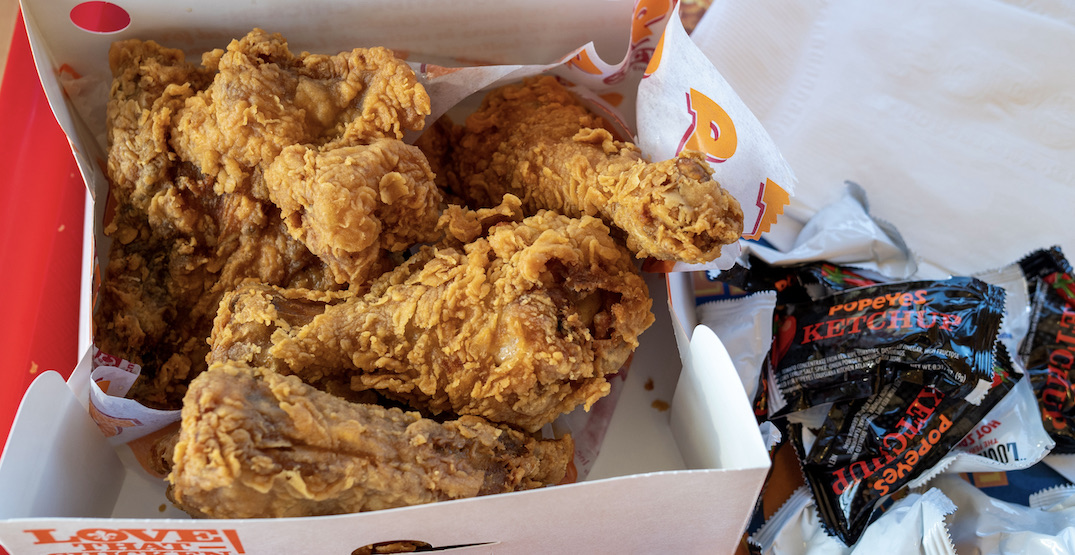 Popeyes Chicken just opened its new Metro Vancouver location