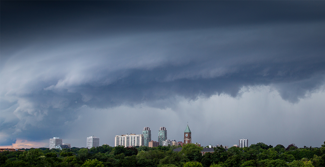 Environment Canada issues special weather statement in Toronto ahead of thunderstorms and flood risk
