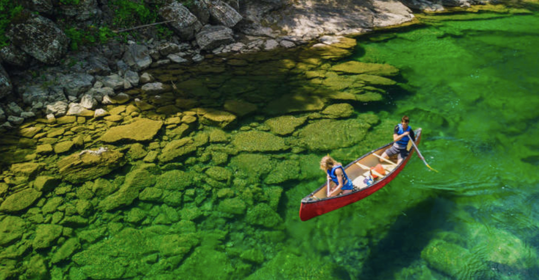 Check out how clear the water is at this river just outside Montreal (VIDEO)