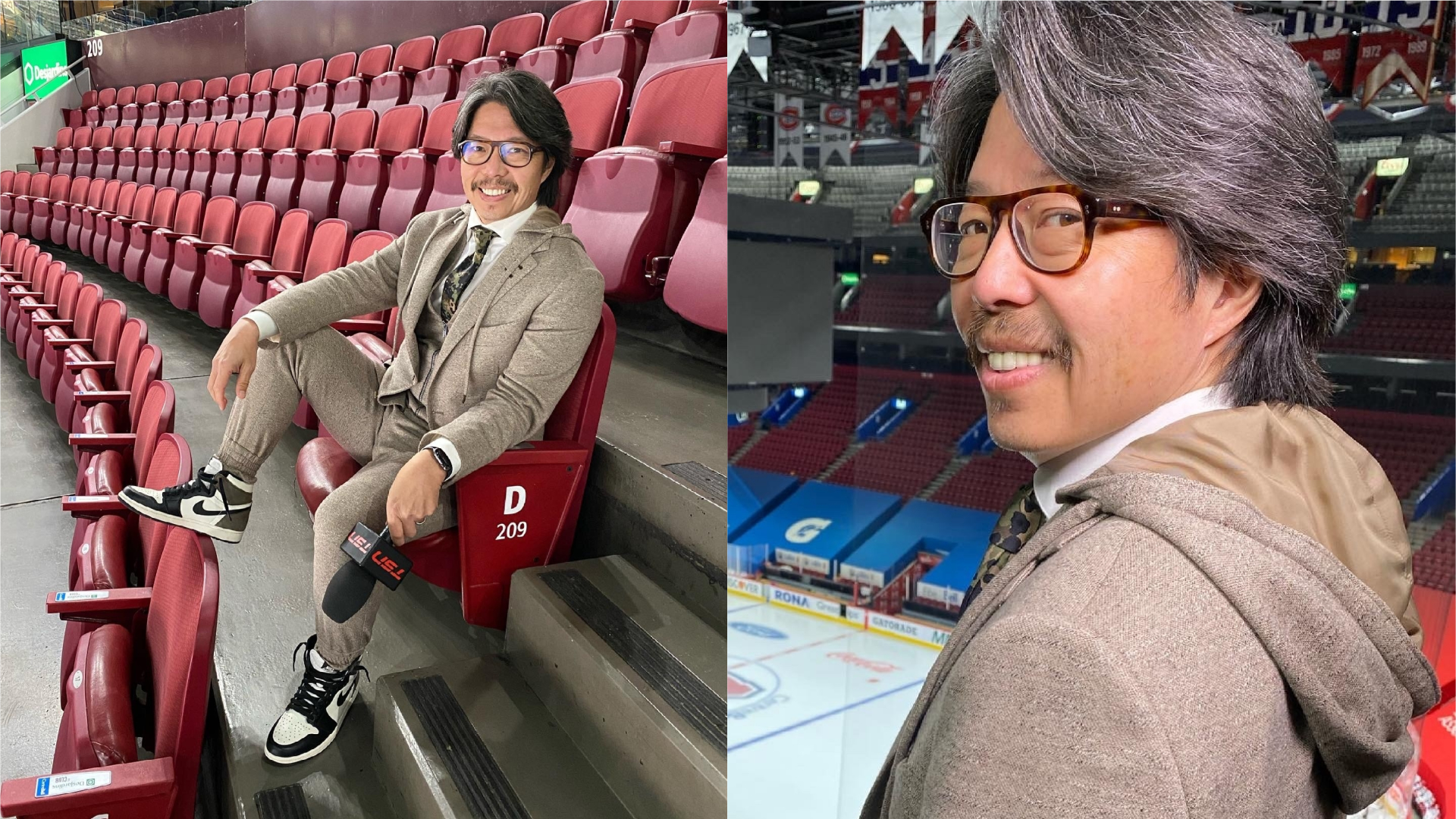 "TSN's John Lu ""floored"" by response to his custom Zoom suit"