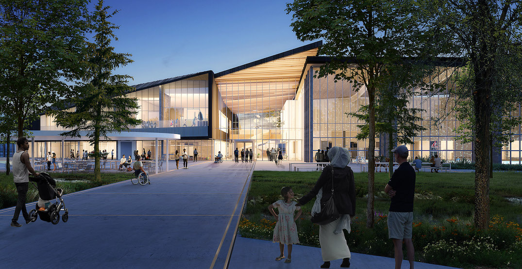 Construction begins on New Westminster aquatics and community centre (RENDERINGS)