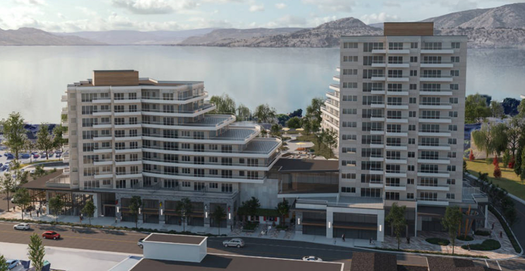 Lakeside development with 345 homes approved for Kelowna