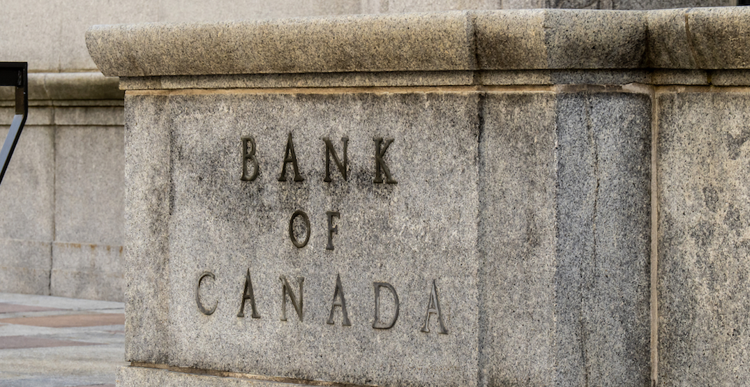 Bank of Canada keeping key interest rate at record low 0.25%