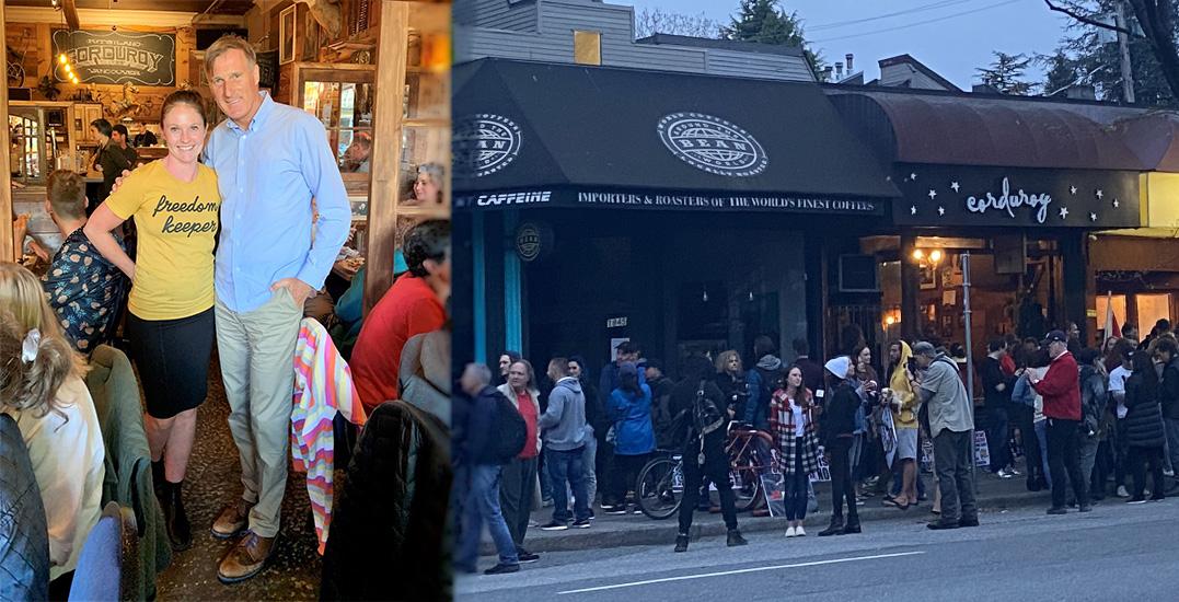 Maxime Bernier praises Vancouver restaurant that broke indoor dining rules