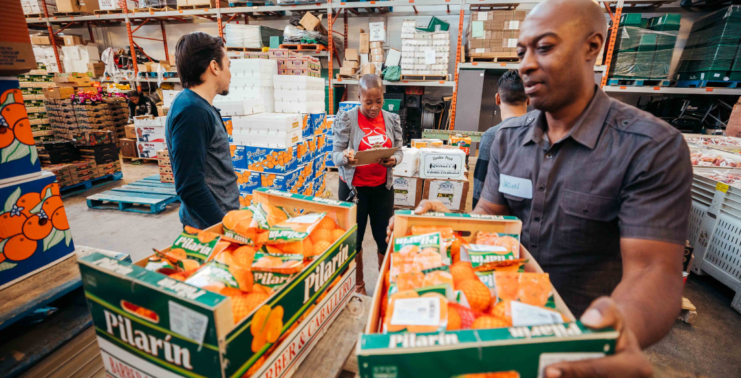 This community-led group provides fresh food to those facing food insecurity