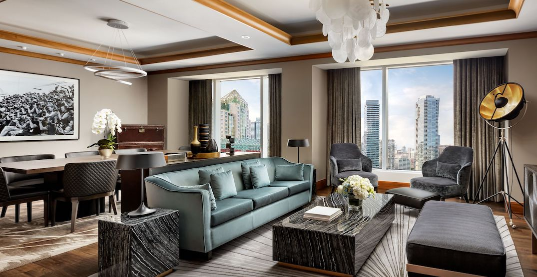 You can rent an entire floor of the Toronto Ritz-Carlton this summer