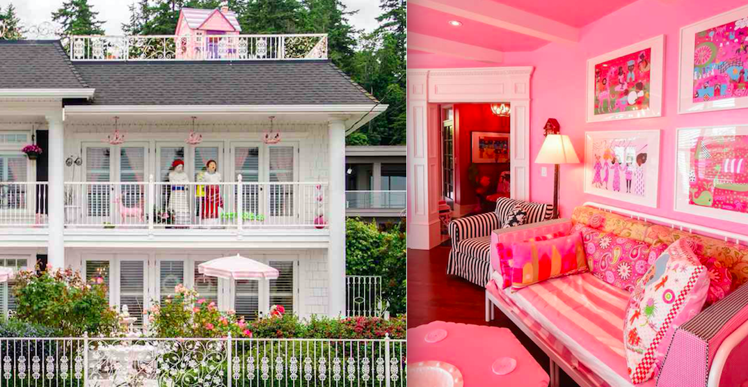 """A Look Inside: """"Wonderland"""" White Rock home listed for $3.9M (PHOTOS)"""