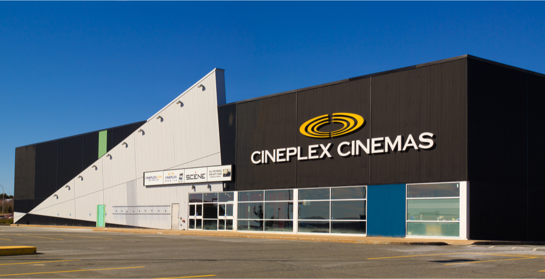 Here's which movies you can check out at Cineplex theatres