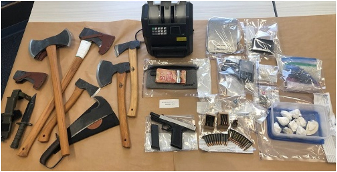 Gang activity linked to two major Lower Mainland drug and weapon seizures