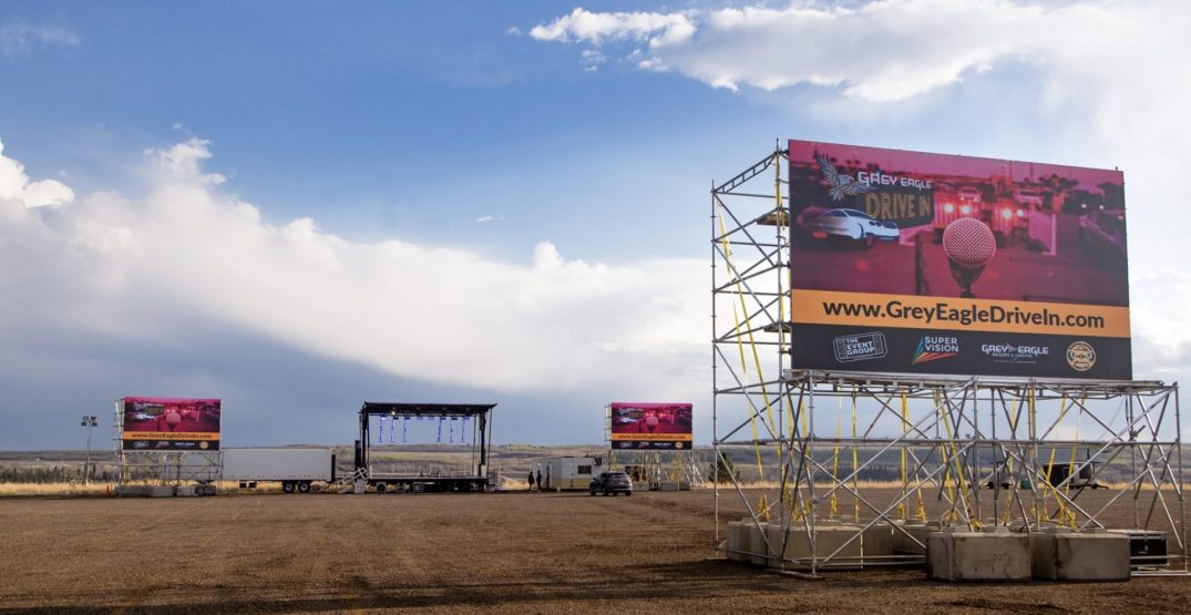 Southern Alberta's largest drive-in announces summer concert lineup